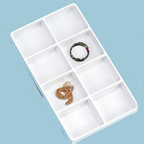 Deep Stackable Plastic Tray - JewelryPackagingBox.com