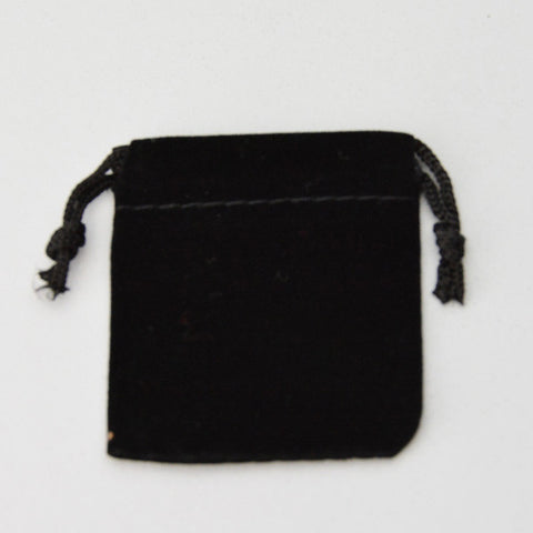 "Drawstring Pouches 2"" X 2"" 25/PACK - JewelryPackagingBox.com"