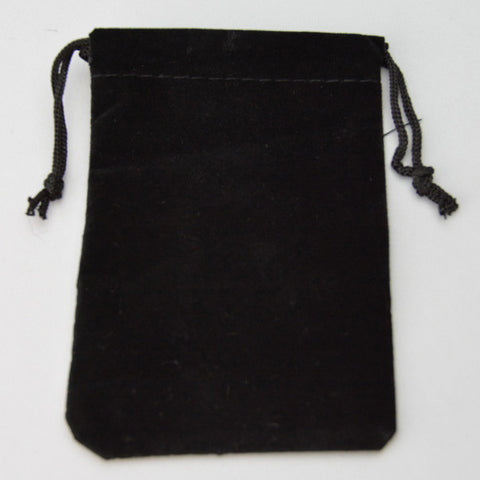 SUEDINE POUCH 3X4 25/PK - JewelryPackagingBox.com