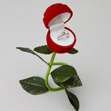 Rose Ring Box - JewelryPackagingBox.com