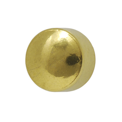 Medium Ball Gold Plated - JewelryPackagingBox.com