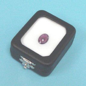 Glass Top Gem Box - JewelryPackagingBox.com