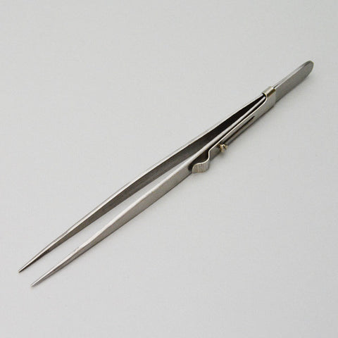 locking diamond tweezers medium - JewelryPackagingBox.com