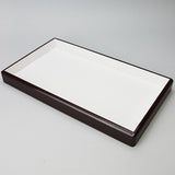 Deluxe Wood Frame Tray - JewelryPackagingBox.com