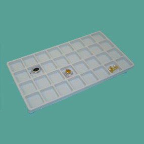 Plastic liner 32 compartments - JewelryPackagingBox.com