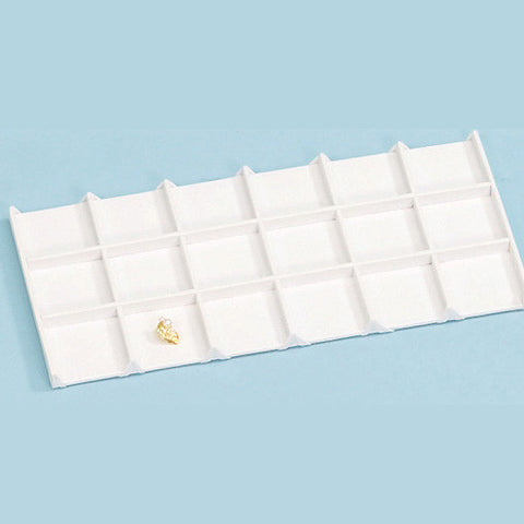 Tray Liner 18 compartments - JewelryPackagingBox.com