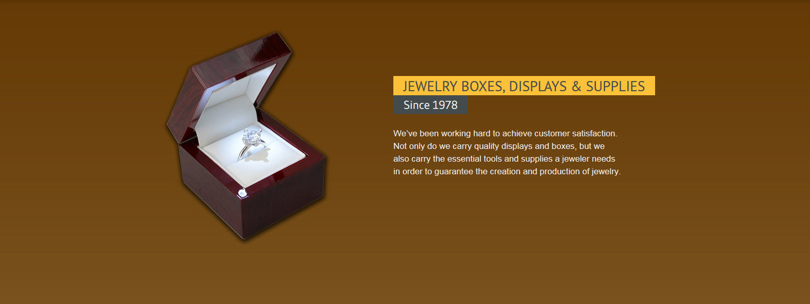 quality jewelry box