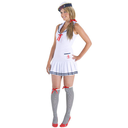 Ahoy There Sailor Mini Dress