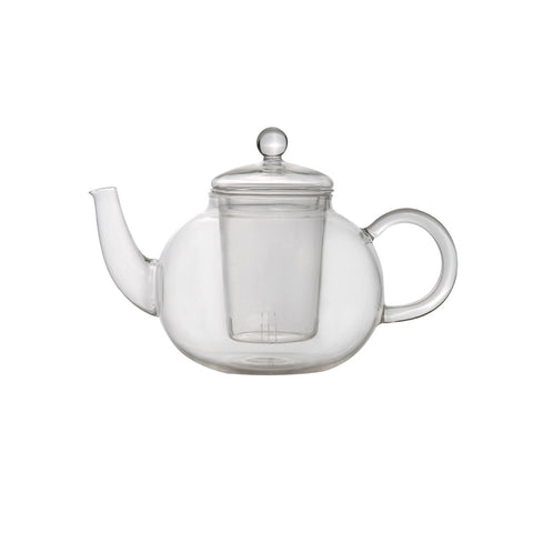 Studio Glass Tea Pot - 1.1Qt