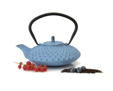 Studio Cast Iron Teapot 0.84 qts Blue