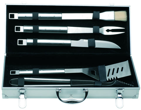 Cubo 6pc BBQ Set with Aluminum Case