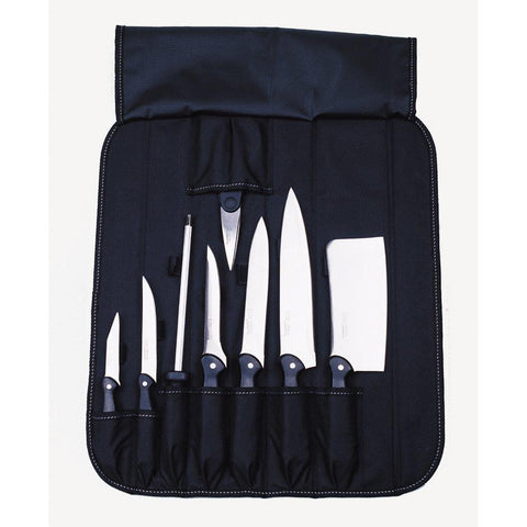 Knife Set 9pc Folding Wrap