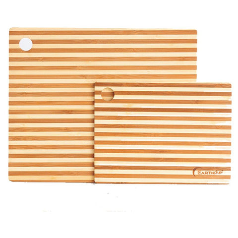 EarthChef 2pc bamboo prep board