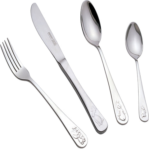 Children's Line 4pc Baby Flatware  Set