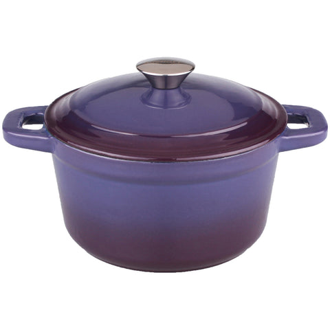 Neo 3qt Cast Iron Round Cov Dutch Oven Purple