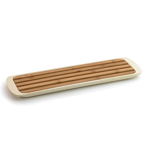 CooknCo Small Bread Board , Cream