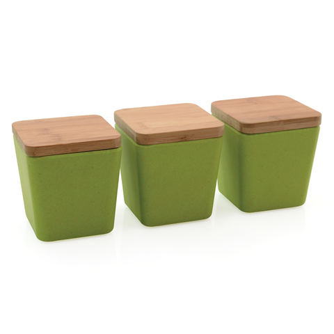 CooknCo Storage Canister (3x) w/ Cover
