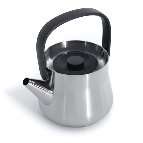 Ron Teapot w/ Strainer - Black