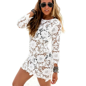 'Maddie' Lace cover up dress - Bikini Genie