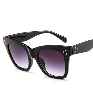 'Milan' Black Sunglasses