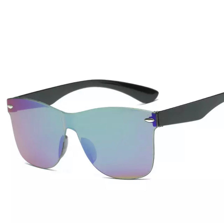 'Sienna' Blue/ purple mirror sunglasses