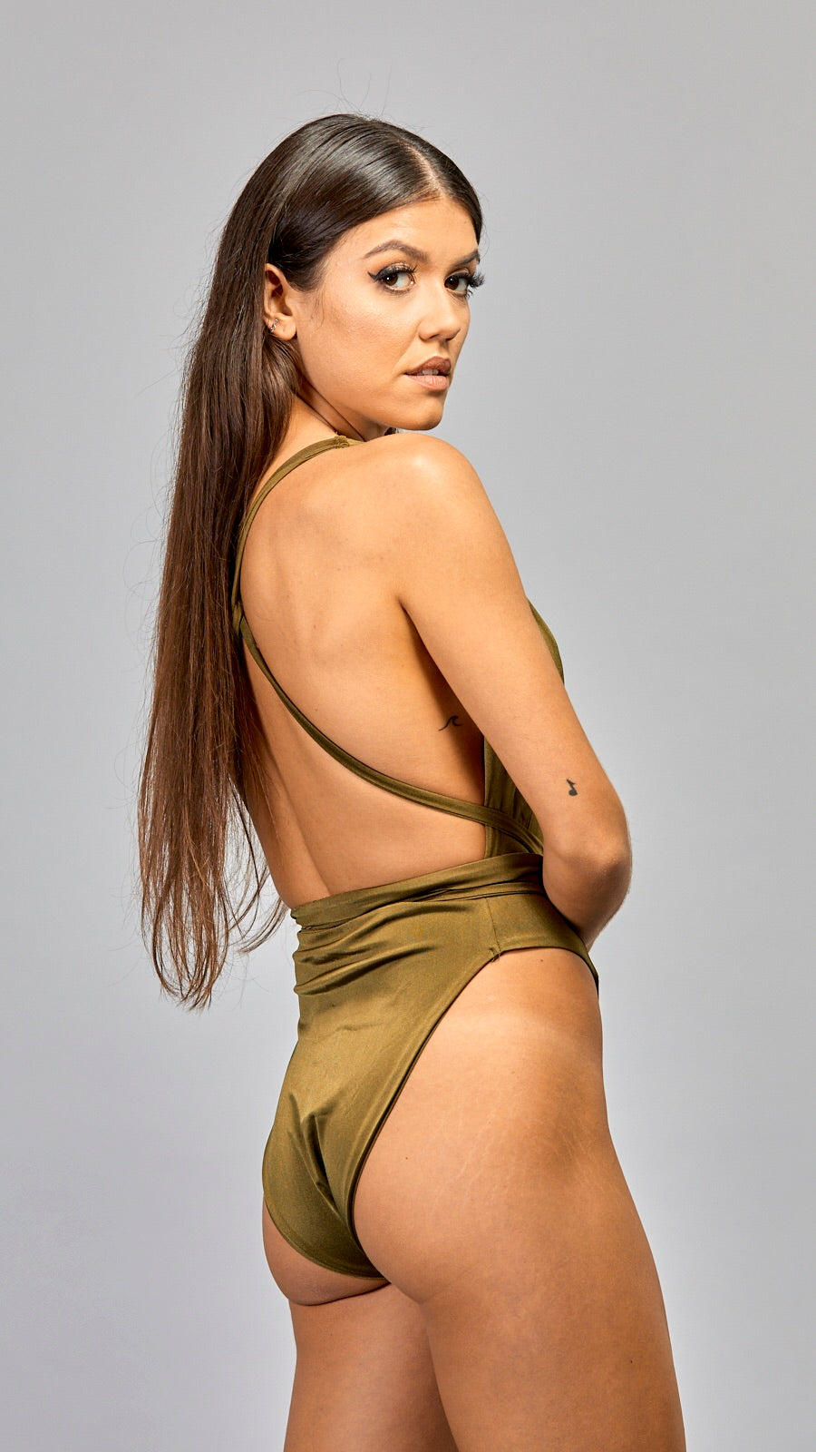 'Fara' khaki One Piece