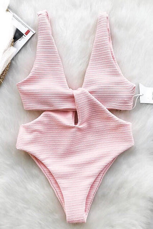 'Dani' Baby pink one piece