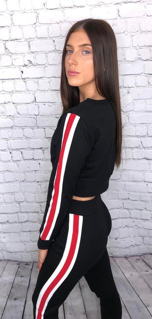 'Annie' slim fit tracksuit lounge set