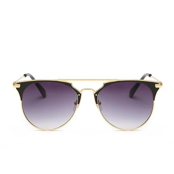 'Ariana' Black and gold Sunglasses - Bikini Genie
