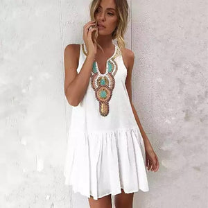 ' Mykonos' Beach Dress - Bikini Genie