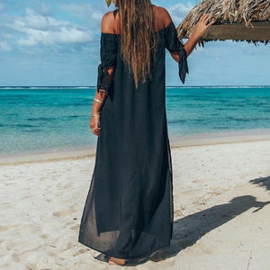 ' Barbados' Beach Maxi Dress - Bikini Genie
