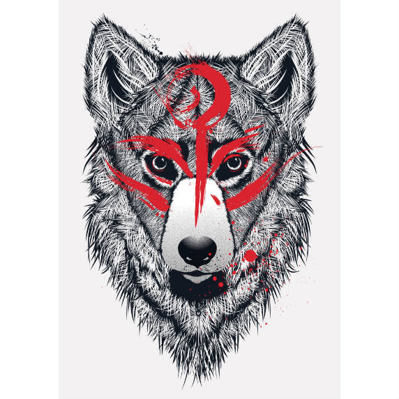 AMATERASU A3 PRINT - Art Prints - Top Thread