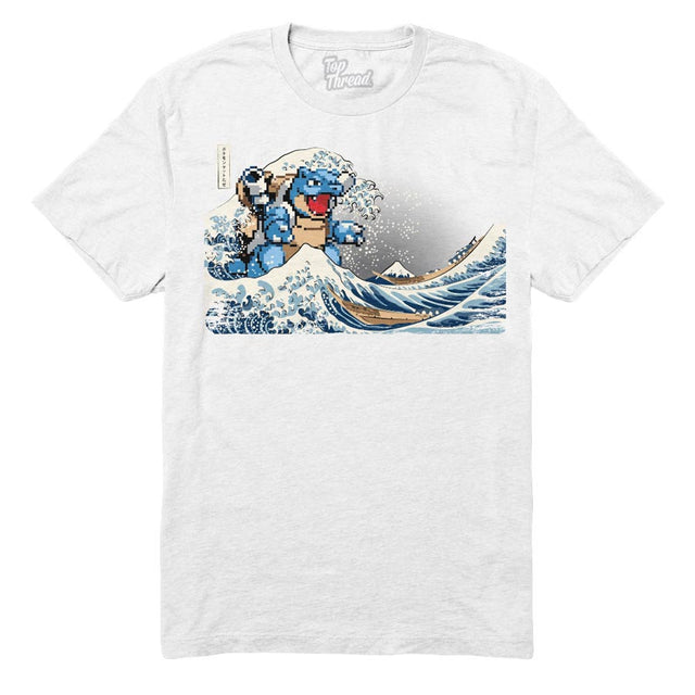 I CHOOSE YOU : THE GREAT WAVE OFF KANTO - Tees - Top Thread