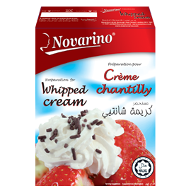 Whipped Cream Novarino 52g