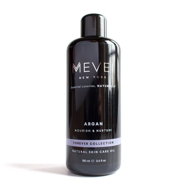 Argan Oil - Forever Collection, is a curated natural skincare oil by America's leading luxury essential oil brand MEVEI (100 ml/3.4 fl oz)