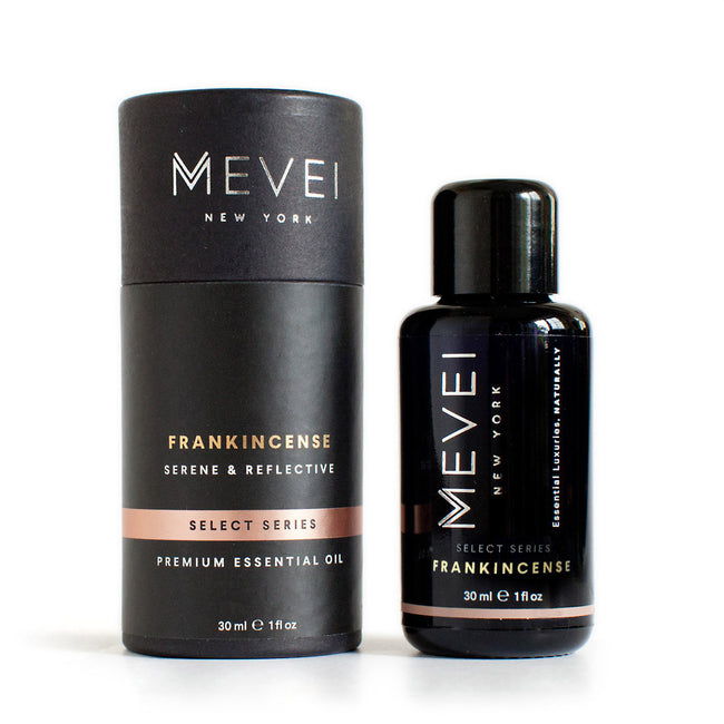 Frankincense Luxury Essential Oil by MEVEI (30 ml/1 fl oz ) Frankincense is an oil used since the ancient times and is best known for its meditative and invoking properties.