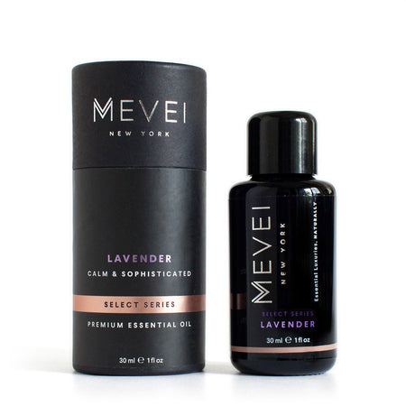 Lavender Essential Oil from one of USA's leading luxury oil company MEVEI. 30 ml/ 1 fl oz.