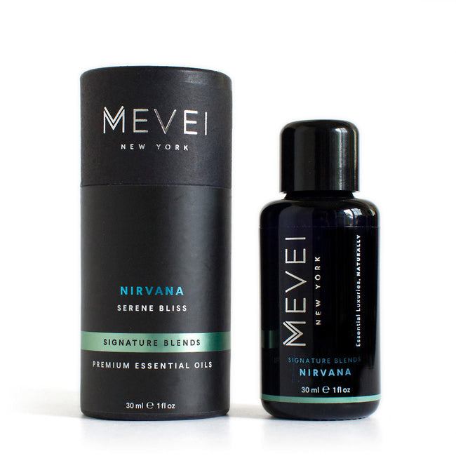 Nirvana - Synergy Signature Blend for Serenity I Luxury Essential Oils | MEVEI