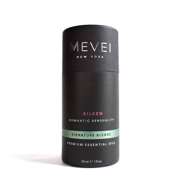 Silken - Romantic Sensuality, Signature Blends, Luxury Essential Oils | MEVEI