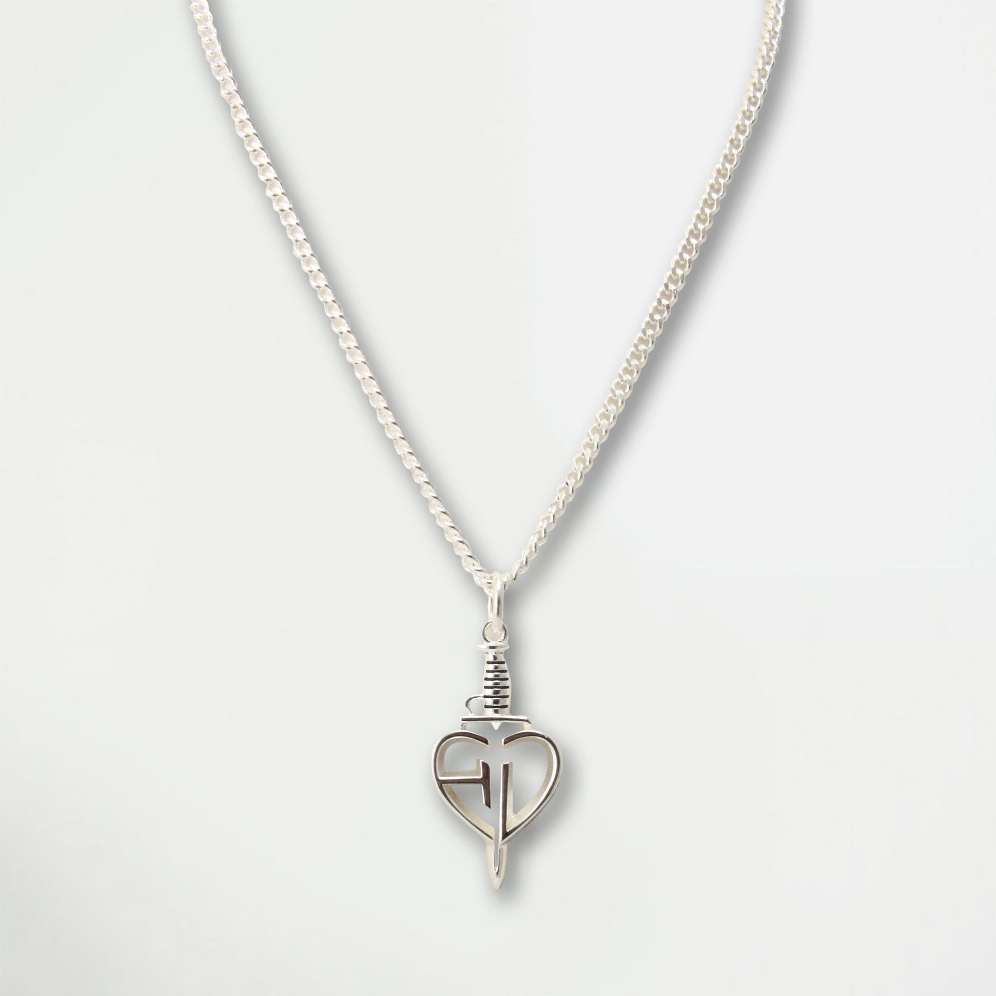 Hart N Dagger Pendant Necklace