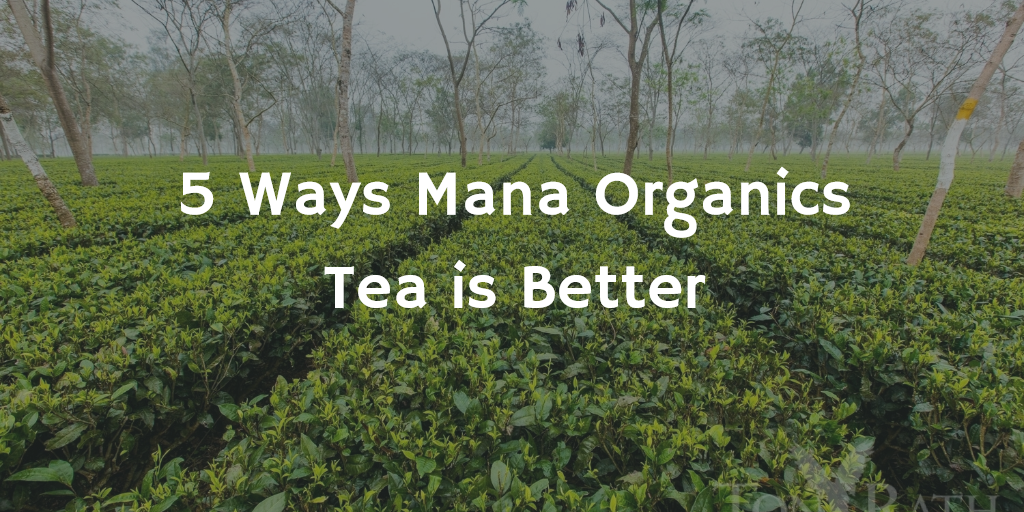 5 Ways Mana Organics Tea is Better