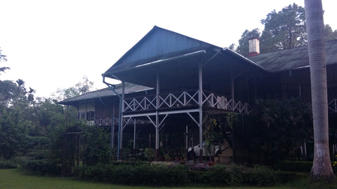 Managers house on a tea plantation