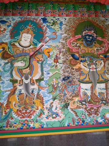 Guardians of Tawang Monastery