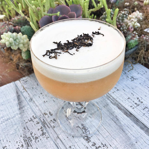 Mana Assam CTC Tea and Mezcal Cocktail