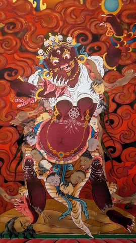 Tibetan Monastic Murals in Tawang District