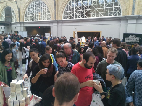 SF Tea Fest crowd