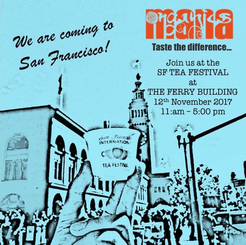 Social media posting for SF Tea Fest