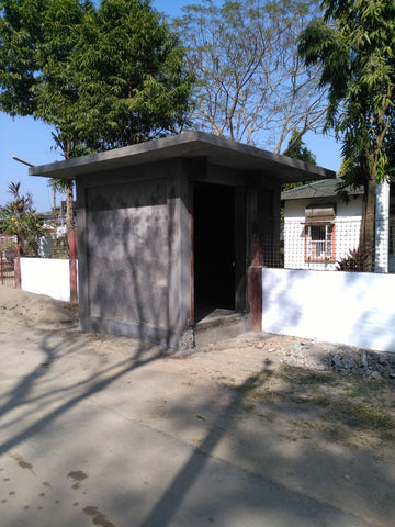 Shed for the new ATM at Chota Tingrai Tea Estate