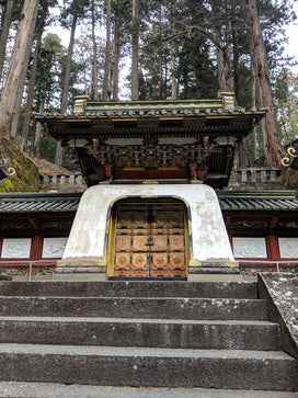 Tomb in Nikko, Japan