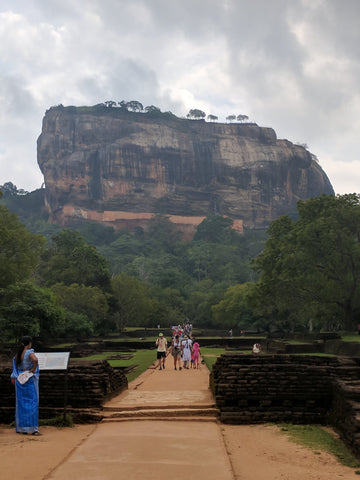 Sigiriya from the base